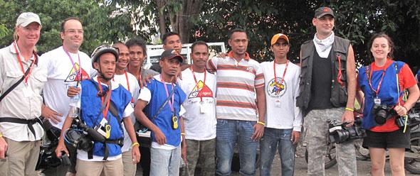 Tour de Timor 2010 Film Crew